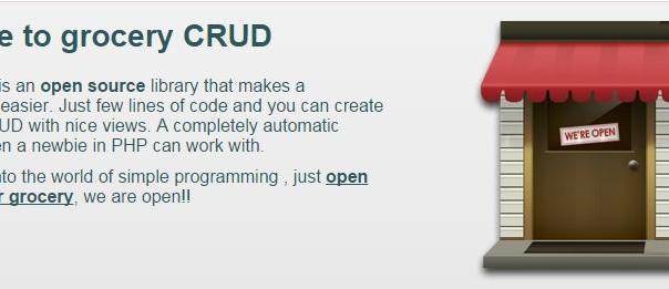 Sistem CRUD Dalam 30 Detik Dengan GroceryCRUD !