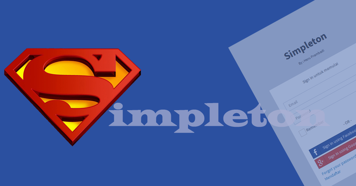 A simple codeigniter skeleton – Simpleton