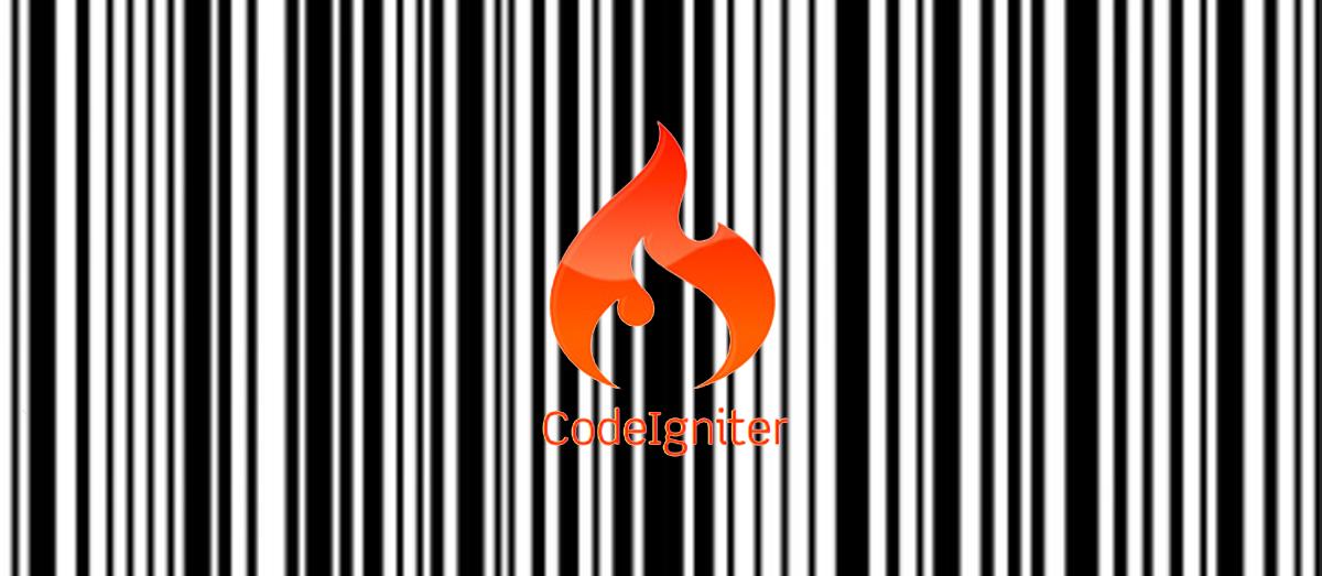 Generate Barcode Dengan Codeigniter (3.0.4)