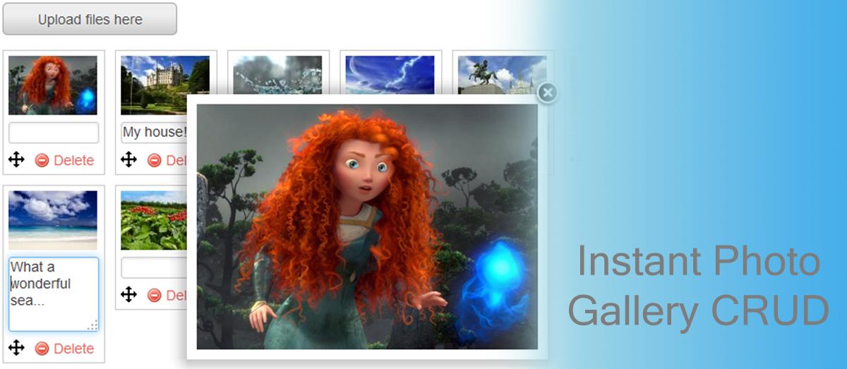 Gallery Foto Menggunakan Codeigniter dan ImageCRUD